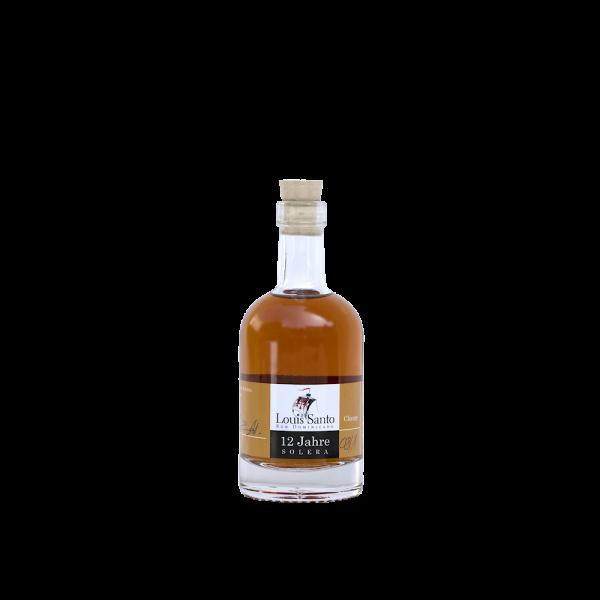 Louis Santo Miniatur Rum 12 Jahre