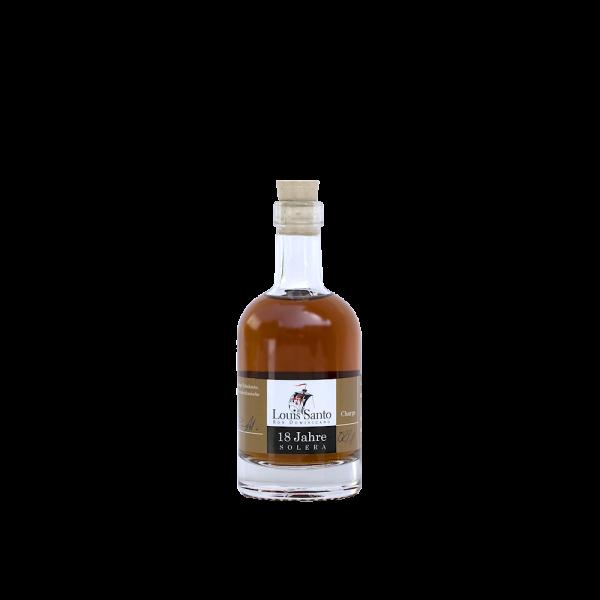 Louis Santo Miniatur Rum 18 Jahre